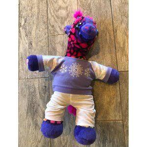 "Build A Bear Wild BABW Rainbow Stuffed Animal 20"""